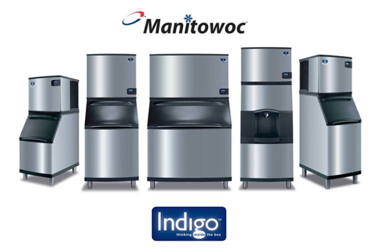 Manitowok and Scotsman Ice Machines