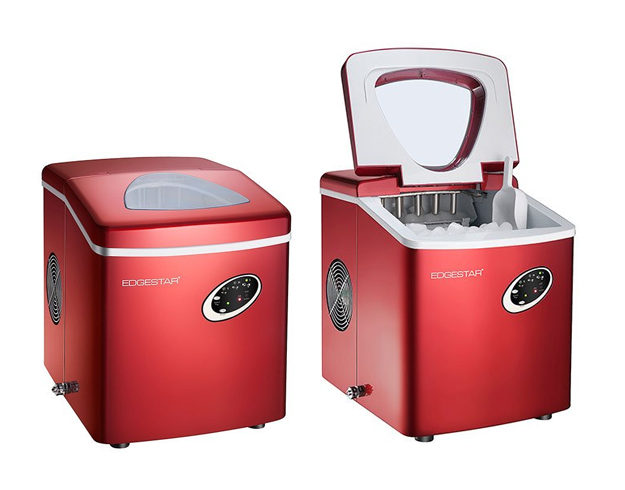 edgestar-red-portable-ice-maker